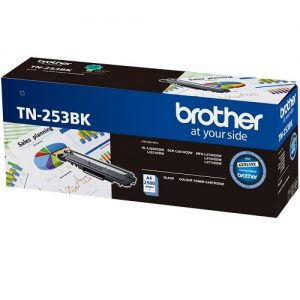 Brother TN-253BK Black Genuine Toner 2.5k pages