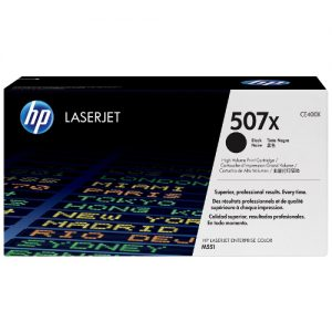 HP CE400X (507X) Genuine Black toner 11k pages
