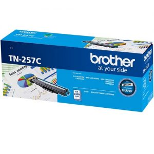 Brother TN-257C Cyan Genuine Toner 2.3k pages