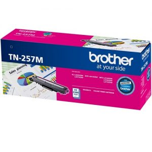 Brother TN-257M Magenta Genuine Toner 2.3k pages