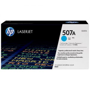 HP CE401A (507A) Genuine Cyan toner 6k pages