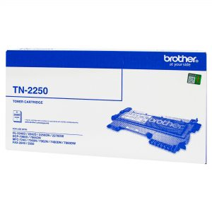 Brother TN-2250 Black Genuine Toner 2.6k pages