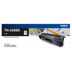 Brother TN-346BK Black Genuine Toner 4k pages