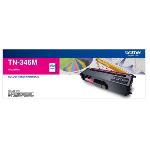 Brother TN-346M Magenta Genuine Toner 4k pages