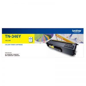 Brother TN-346Y Yellow Genuine Toner 4k pages