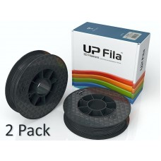 UP ABS Filament Black Matte (2x 500g rolls)
