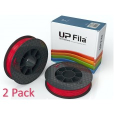 UP ABS Filament Red Matte (2x 500g rolls)