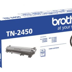 Brother TN-2450 Black Genuine Toner 3k pages