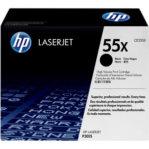HP CE255X (55X) Genuine Black toner 12k pages